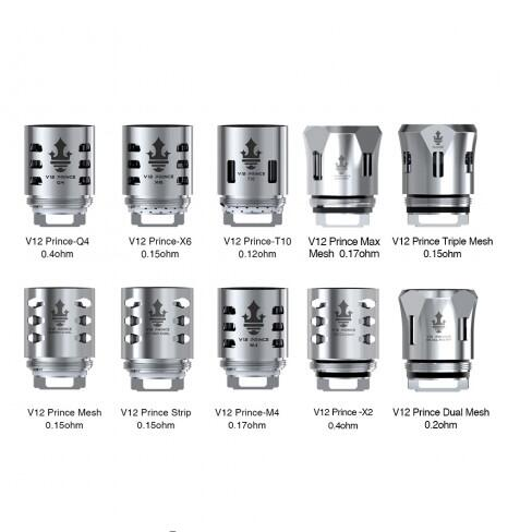 SMOK TFV12 Prince Replacement Coil Head 3pcs