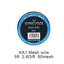 Load image into Gallery viewer, Vandy Vape Mesh Wire For Mesh RDA&RTA