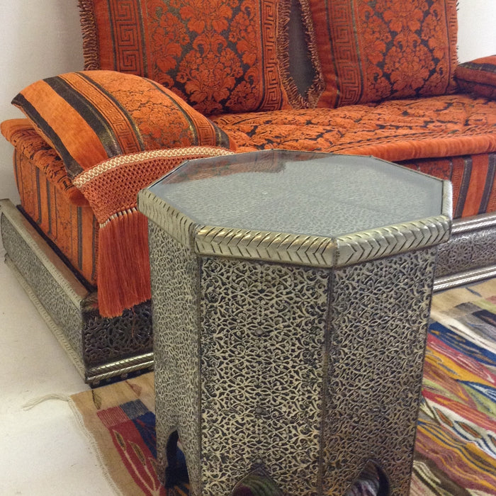 Moroccan living theme at casbah decor