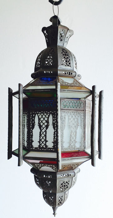 Casbah metal lamp