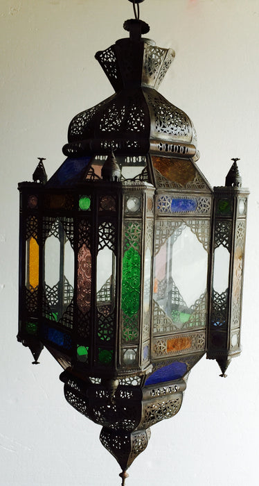 Moorish palace lantern