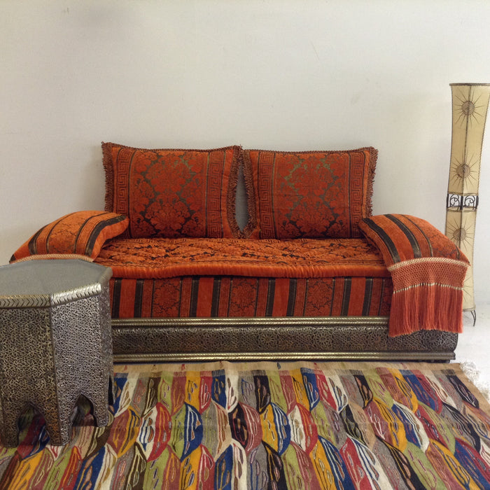 Orange Demna couch