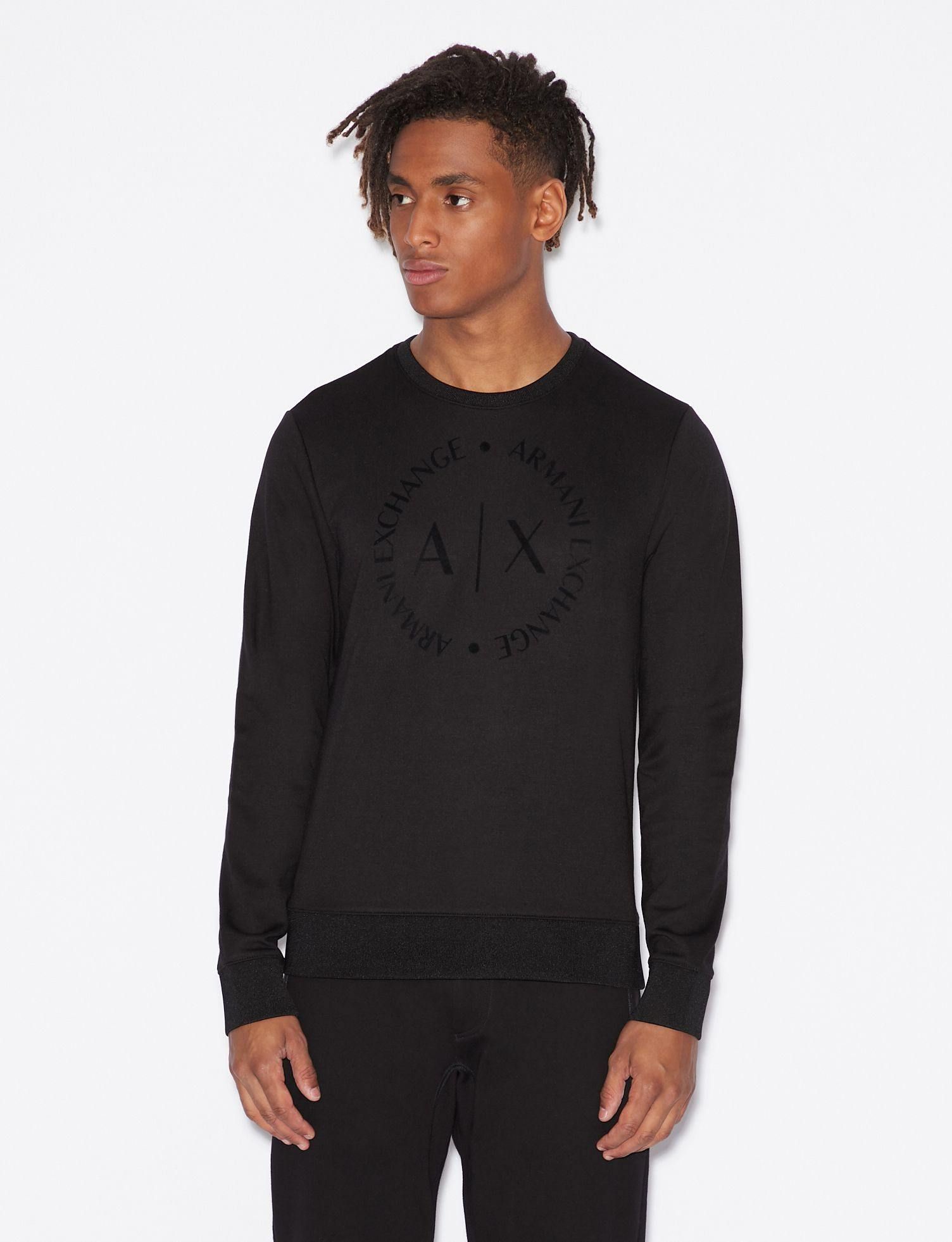 Armani Exchange - Sweater - Black - Stijl Alkmaar