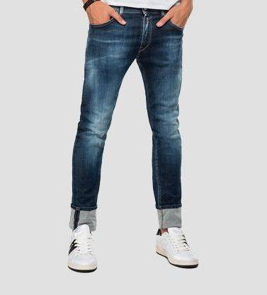 Replay - Hyperflex Bio - Dark Denim - Stijl Alkmaar