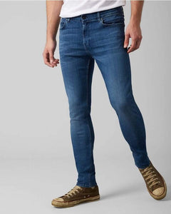 7 For All Mankind - Ronnie Tapered Luxe Performance Plus - Mid Blue - Stijl Alkmaar