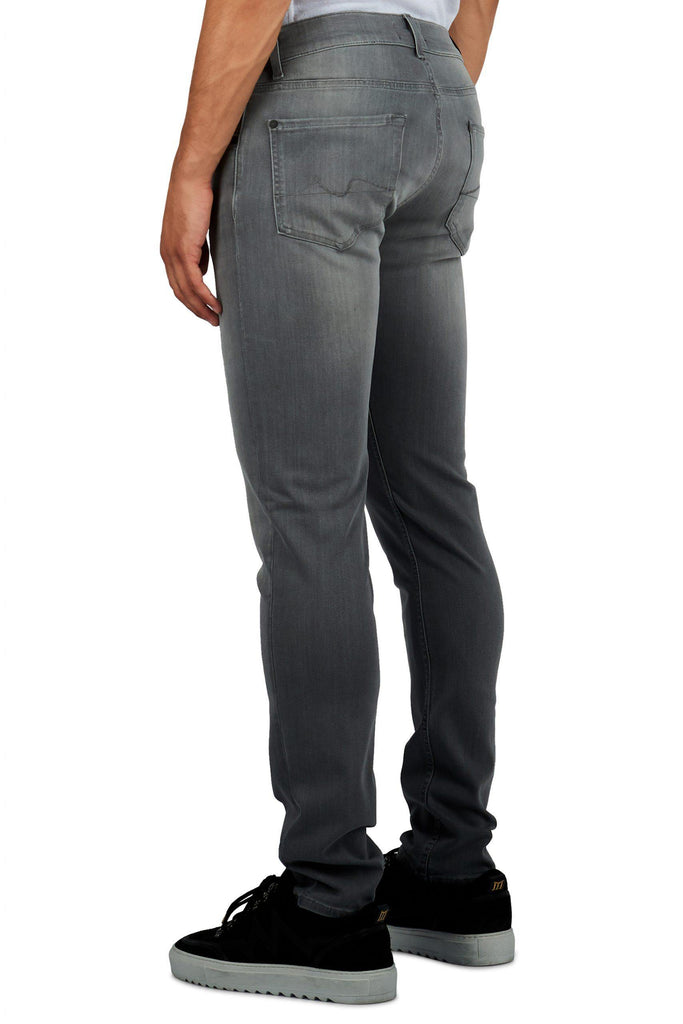 7 For All Mankind - Ronnie Tapered Luxe Performance - Grey Light - Stijl Alkmaar