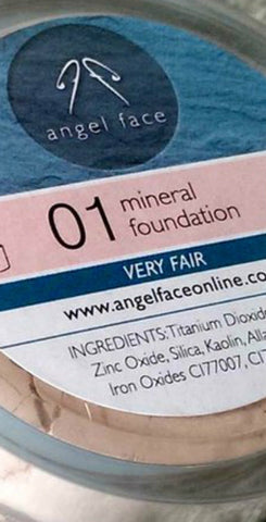 Mineral Foundation 4 Gram (shade 01 - very fair)