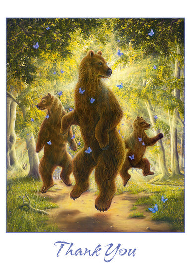 "Robert Bissell ""The Dancers"" Boxed Thank You Cards"