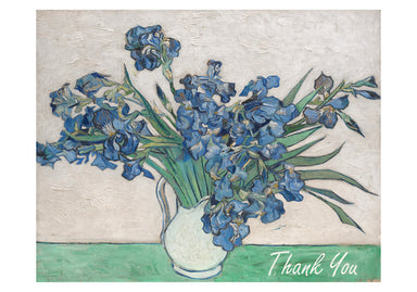 Vincent van Gogh Irises  Boxed Thank You Cards