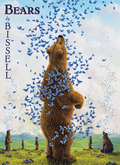 Robert Bissell is well know for his portraits of bears, along with rabbits, butterflies, rats, kangaroos, dragonflies, and a host of other animals.