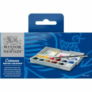 Winsor & Newton Cotman Water Colours- Sketcher's Pocket Box