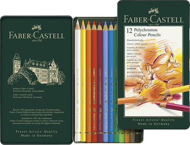 Polychromos artists' pencils are extremely high quality, and suitable for artists at any level.