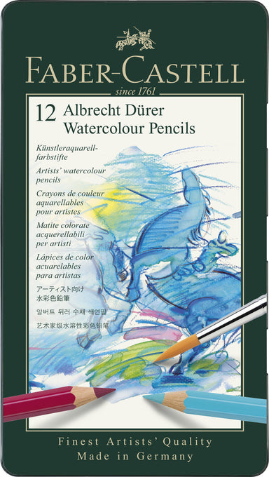 Faber-Castell Albrecht Dürer Watercolour Pencils- set of 12