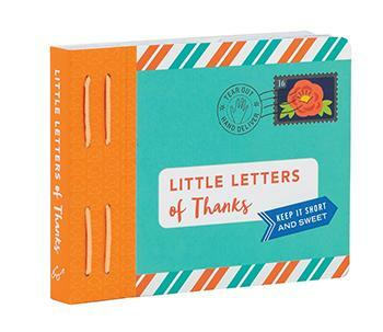 These 75 tiny tear-out letters are perfect for expressing gratitude.