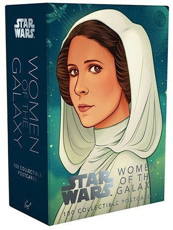 Star Wars Women of The Galaxy Postcards- featuring Leia Organa, Rey, Phasma, and dozens of other characters from across the galaxy of films, books, comics, animation, and games.