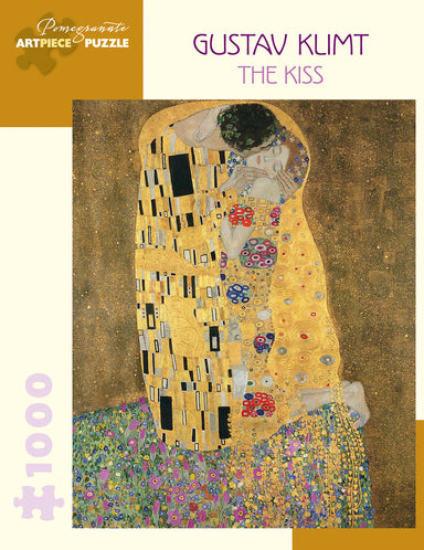 The Kiss by Gustav Klimt is sure to be a challenging puzzle. Painted in 1908-1909, has become Gustav Klimt's most recognizable work.