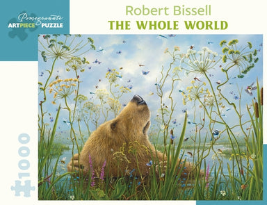 "Pomegranate ""The Whole World"" by Robert Bissell 1000 Piece Puzzle"