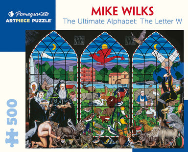 Mike Wilks The Ultimate Alphabet: The Letter W 500-Piece Jigsaw Puzzle