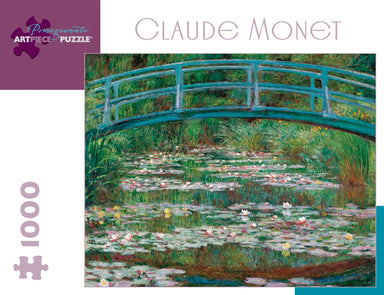 Pomegranate Claude Monet Japanese Footbridge 1000 Piece Puzzle