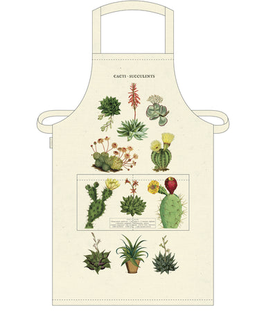 Cavallini & Co. Succulents Cotton Apron