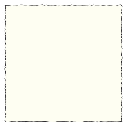 Medioevalis Flat Cards,4.75 by 4.75 inches Square, 100 pack, Cream finish