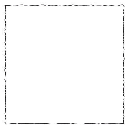 Medioevalis Flat Cards,4.75 by 4.75 inches Square, 100 pack, White finish