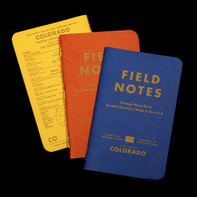 "Field notes has created their ""County Fair"" edition for the entire US. While we would like to carry them all, we have to start somewhere."