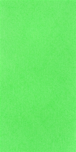 Solid Color Crepe Paper- Apple Green