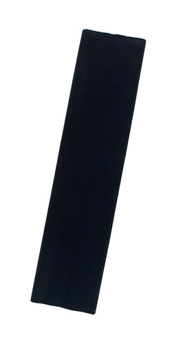 Solid Color Crepe Paper- Black
