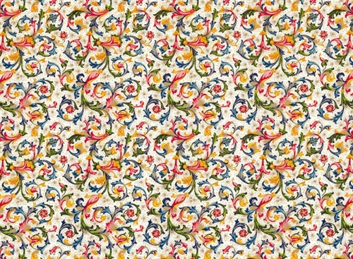 Rossi 1931 Italian Decorative Paper- Traditional Florentine