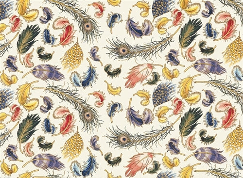 Rossi 1931 Italian Decorative Paper- Feathers