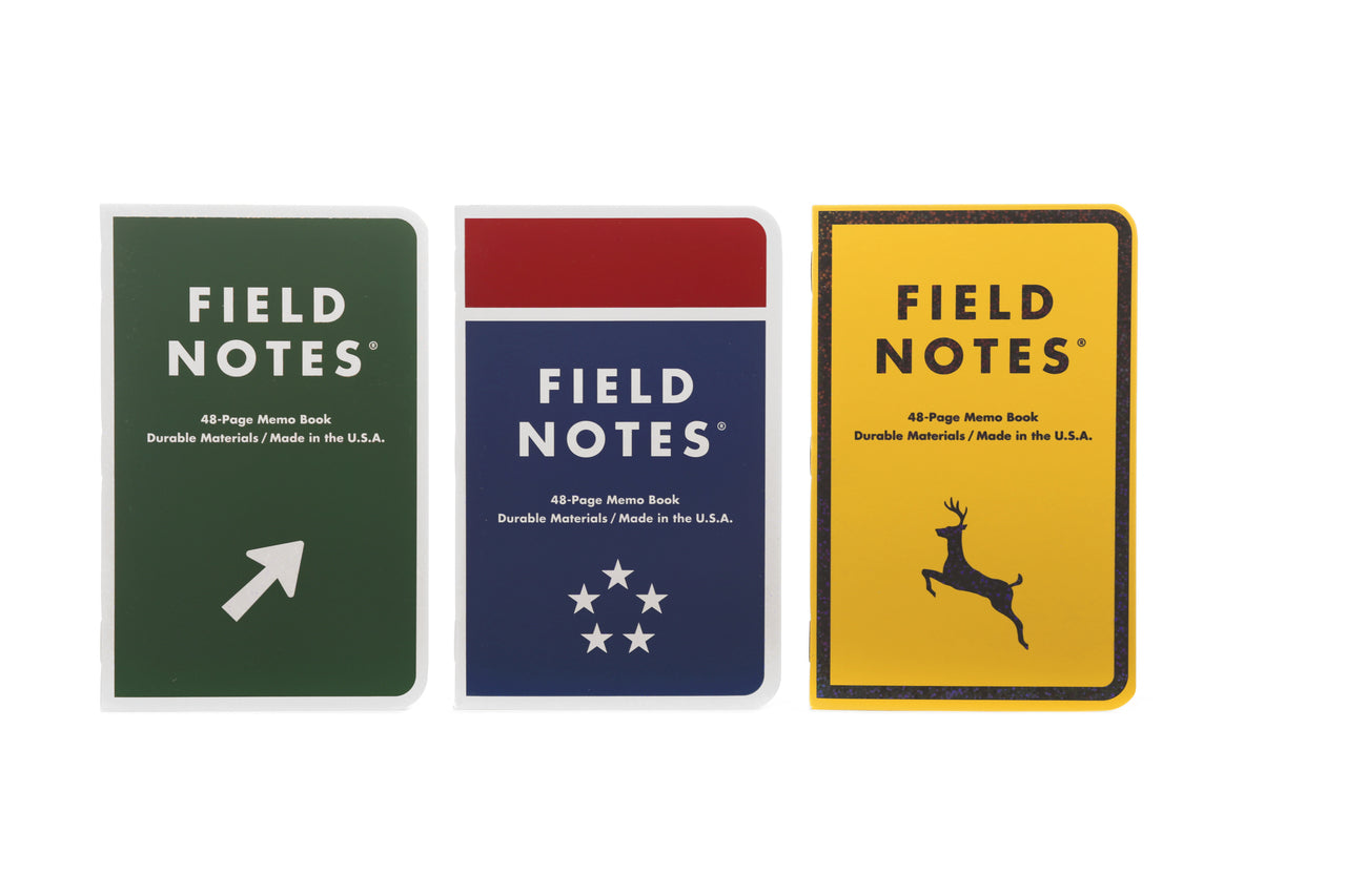 Field Notes Mile Marker Edition 3-Pack