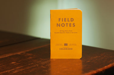 For those of you living in the Centennial State, your Colorado Field Notes County Fair edition is here!