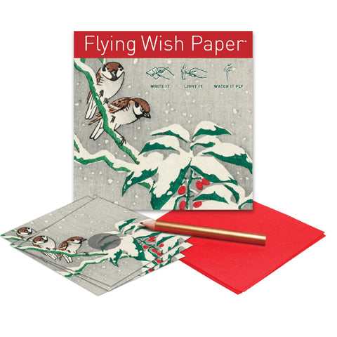 Flying Wish Paper- Snow Birds