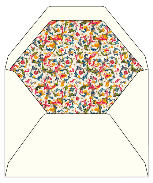 Fiorenza Lined Envelopes, 6.25 by 8.38 inches, 100 pack