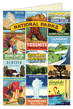Cavallini & Co. National Parks Blank Single Greeting