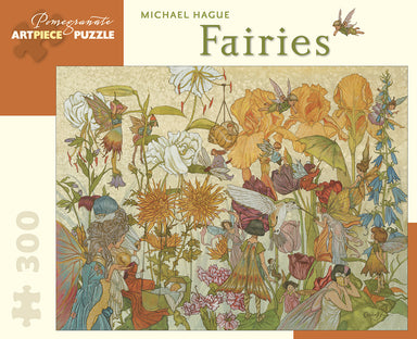 "Pomegranate ""Fairies"" 300 Piece Puzzle by Michael Hague"