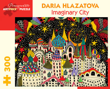 "Pomegranate ""Imaginary City"" 300 Piece Puzzle by Daria Hlazatova"