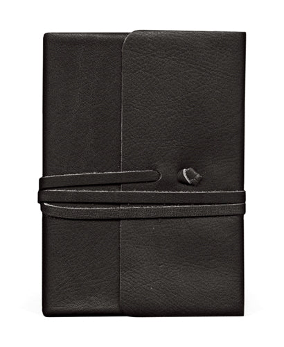 Cavallini & Co. Journalino Leather Journal- Black