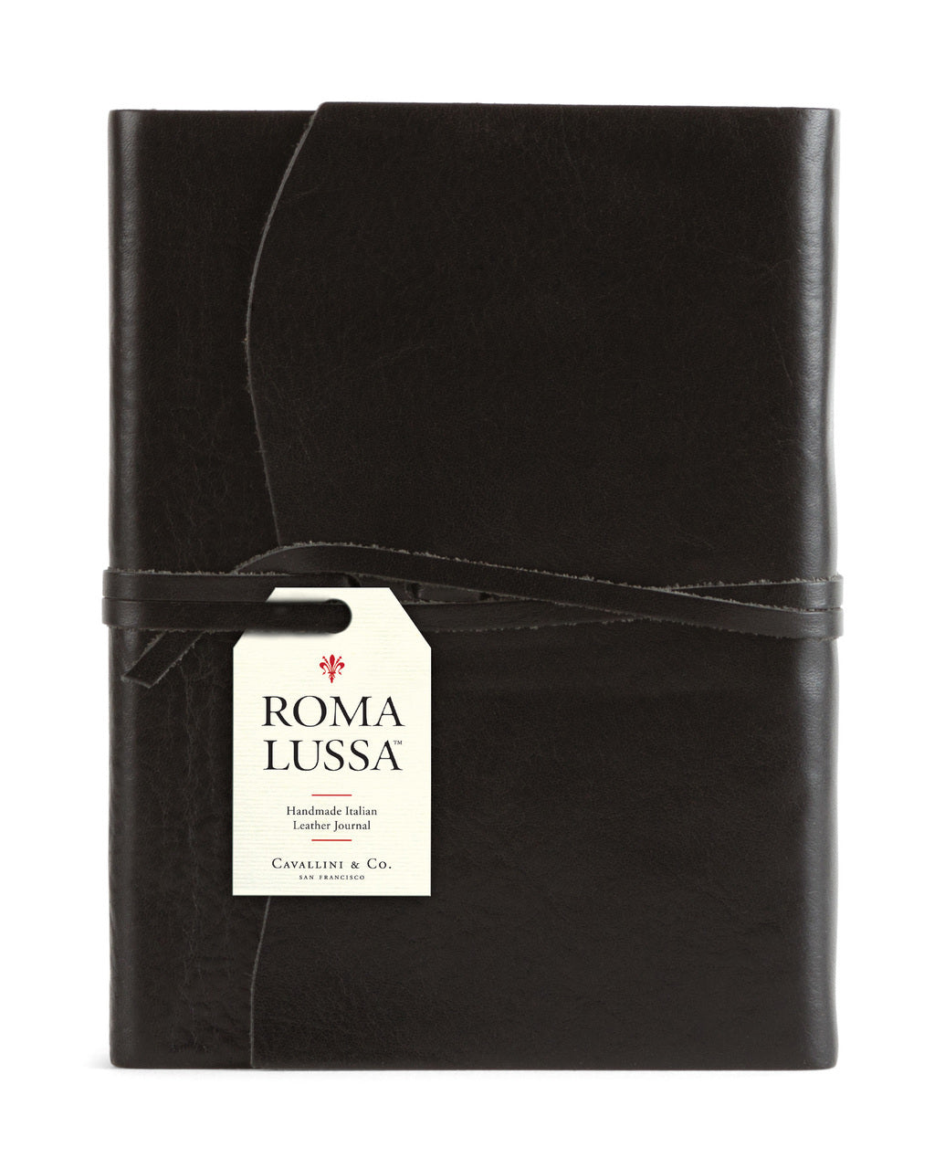 Cavallini & Co. Roma Lussa Leather Journal- 5X7 inches