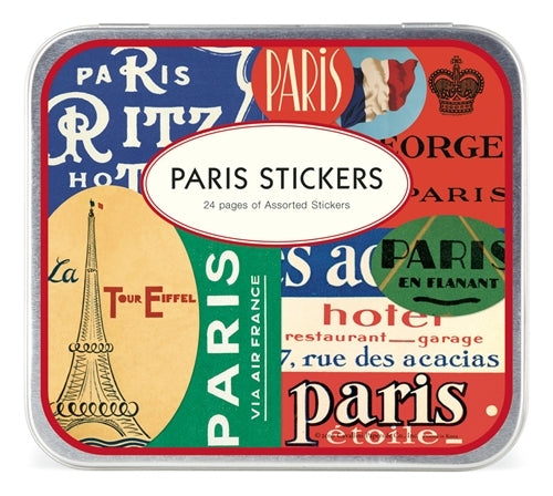 Cavallini & Co. Paris Decorative Stickers