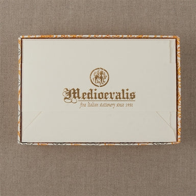 "Medioevalis Stationery 10-Pack Folded Cards, Cream, ""5X7"" inches"