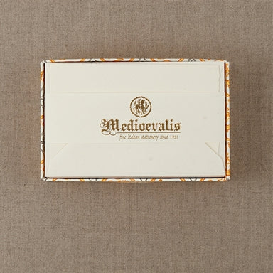 Medioevalis Stationery 10-Pack Flat Cards, Cream, 3x5 inches is a great package of stationery to have in your desk.