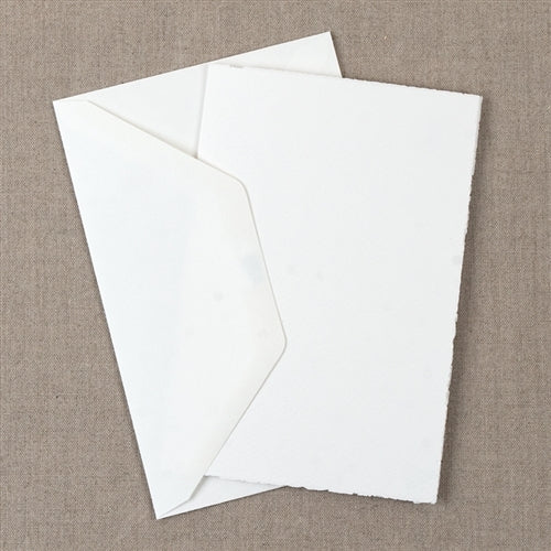 Medioevalis Stationery 10-Pack Folded Cards, White, 5X7 inches features 10 folded cards and 10 envelopes.
