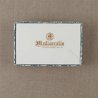Medioevalis Stationery 10-Pack Flat Cards, White, 3x5 inches is perfect for any kind of note writings.