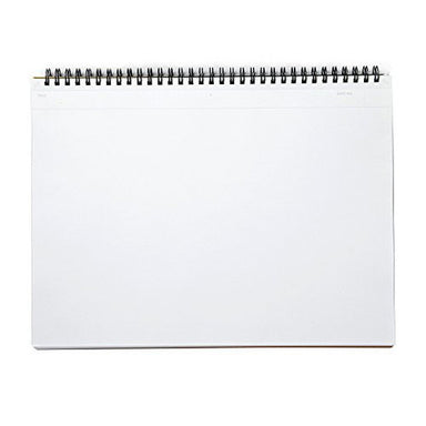 Mnemosyne N181A, A4 blank notebook has horizontally oriented pages.