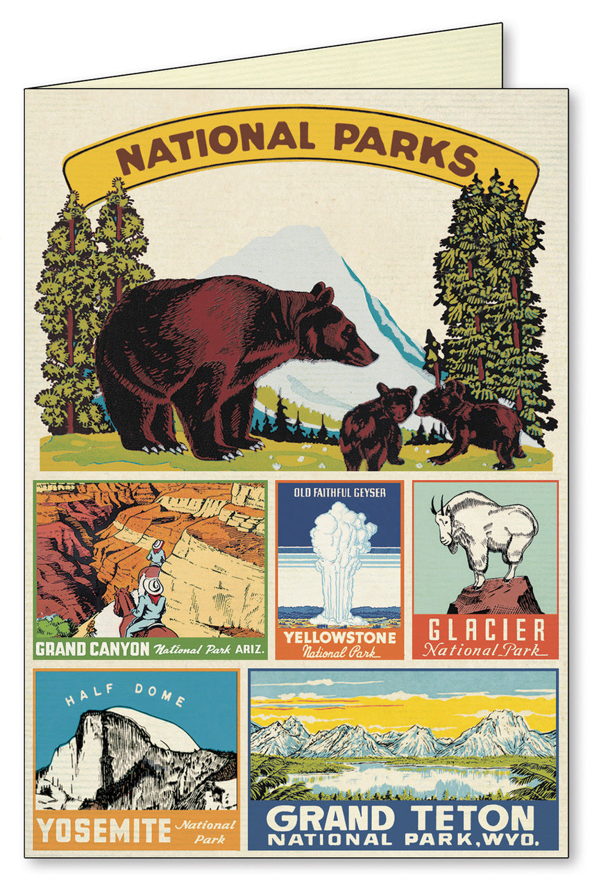 Visit our National Parks.