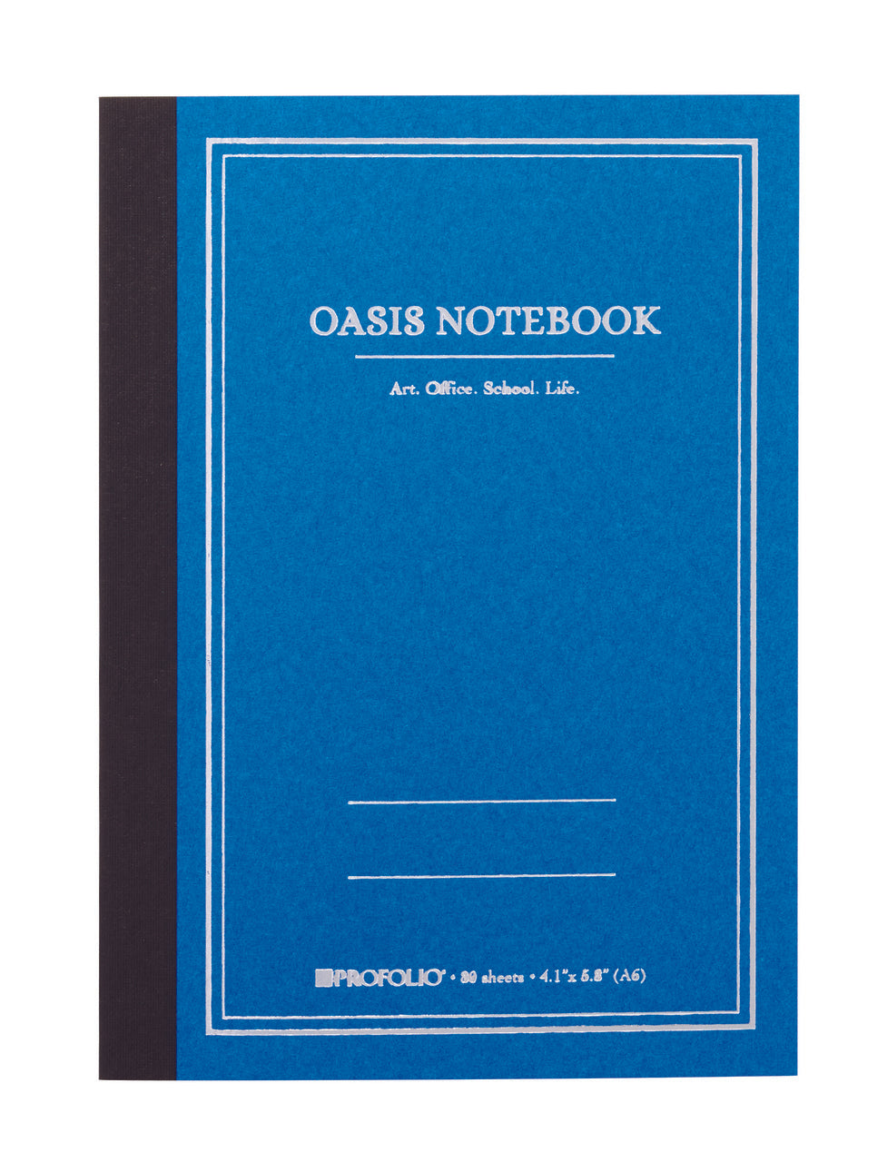 ProFolio Oasis Notebook in sky blue.