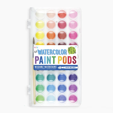 Lil' Watercolor Paint Pods- Set of 36 Colors