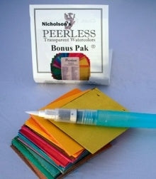 Peerless watercolor papers small bonus pack.